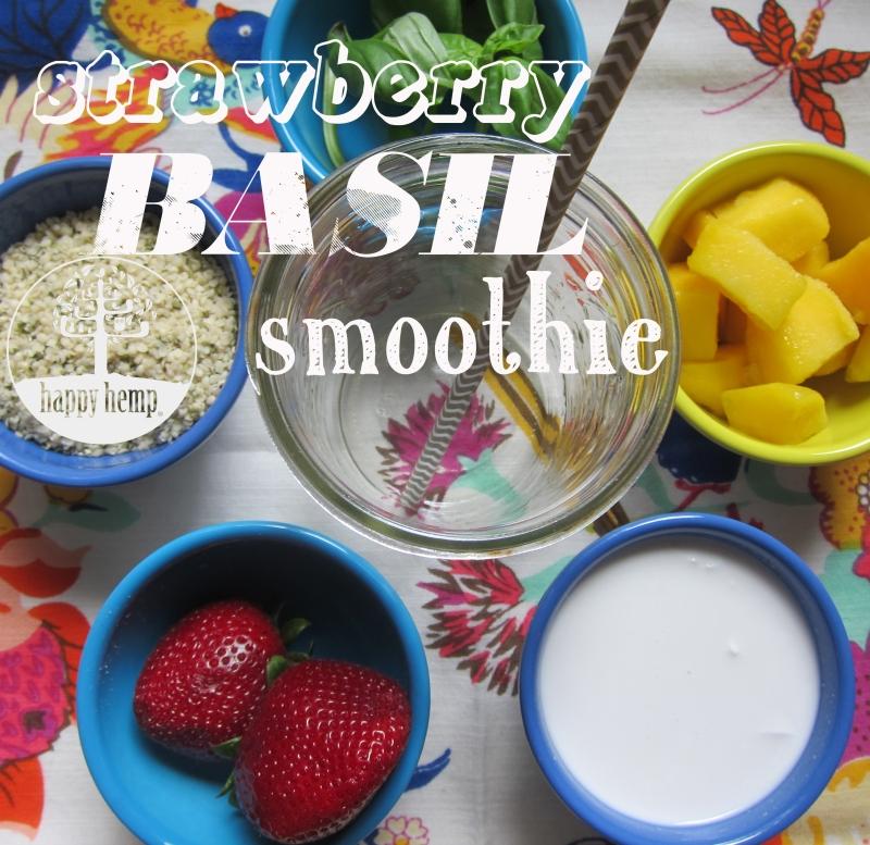 strawberry basil smoothie copy